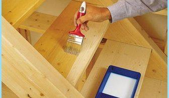 Miten maalata puinen tikkaat