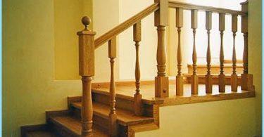 Betonilaattojen portaita