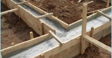 Osuudet betonin perusta