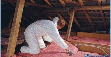 Miten eristää ullakko kattoon käsillään