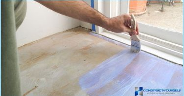 Miten ja mitä maalata lattiaan