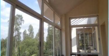 Liukuva parveke ikkunat