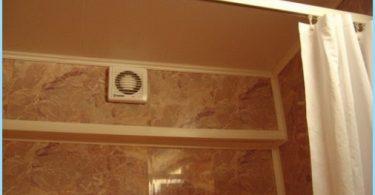 Kuinka asentaa liesituulettimen kylpyhuoneessa, kytkentäkaavio