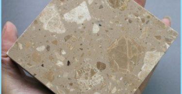 Mikä on polymeeri betoni, sen koostumus, tuote polymeerin, muistomerkit sisustus