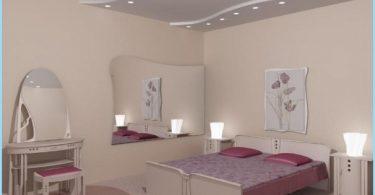 Suunnittelu katto kipsilevy makuuhuoneessa kuvat