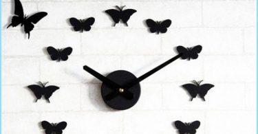 Miten perhoset seinälle käsillään