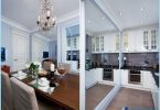 Kitchen Studio 20, 18, 16 sq. m. - Tyylikäs moderni muotoilu
