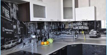 Lasi esiliina keittiön valokuvista