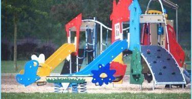 Asennus lasten leikkipaikka omin käsin