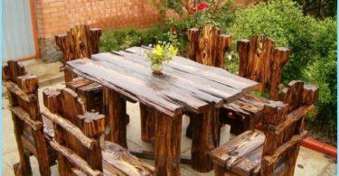 Kuinka tehdä puumökissä pöytä