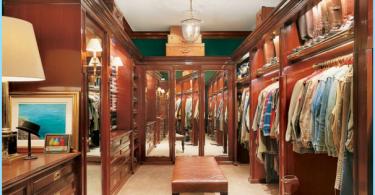 Muunnelmia sisustus ja iso pukuhuone