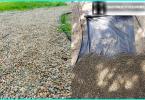 Tyypit talteenotto ja kunnostaminen maaperän puutarhan sivuston