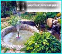 Koristeellinen suihkulähde omin käsin maassa ja puutarhassa - askel askeleelta ohjeet